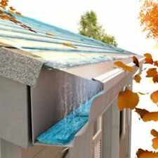 """EasyOn Gutter Guard, 24 Foot or 100 Foot Box, 5"""" or 6"""", Do-It-Yourself"""