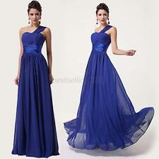 One Shoulder Dress Formal Prom Pageant Cocktail Party Evening Dresses Gown B51
