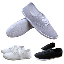 2015 Fashion Lady Girl Casual Flat Shoes Slip On Canvas Sneaker Black/White/Grey