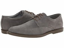 Calvin Klein Mens Shoes Casual Dress Lace Up Oxfords Flann New Suede F9006 Grey