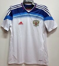 BNWT RUSSIA AWAY WORLD CUP YOUTH KIDS BOYS FOOTBALL SOCCER JERSEY 2014