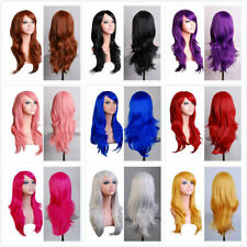 NEW HILISS 28 Long Heat Resistant 10 colors  Big Wavy Cosplay Wig FREE SHIPPING
