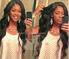 100 Soft indian  Lace Front wigs 100% Human   Remy Hair 4 color wave