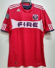 BNWT CHICAGO FIRE MLS HOME 2011 2012 FOOTBALL SOCCER JERSEY TRIKOT MAILLOT
