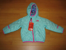 NWT Infant Girl The North Face Reversible  Perrito Jacket (Retail $70.00)