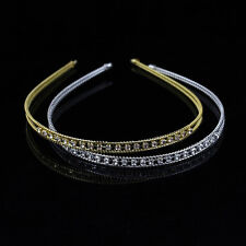 Women Lady Fashion Metal Crystal Headband Head Piece Girl's Hair Band Jewelry