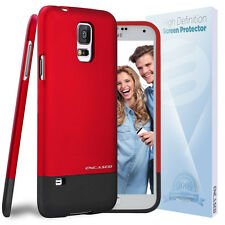 Original [Slider Series] Slim Case + HD Screen Protector for Samsung Galaxy S5