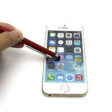 Universal Touch Screen Stylus Writing Ballpoint Pen For iPhone Samsung LG Tablet