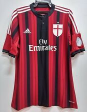 BNWT AC MILAN CHAMPIONS LEAGUE HOME 2014 2015 FOOTBALL SOCCER JERSEY TRIKOT