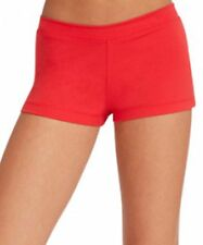 Capezio Women Low Rise Boy Cut Booty Shorts Many Colors Sizes Red Black New!