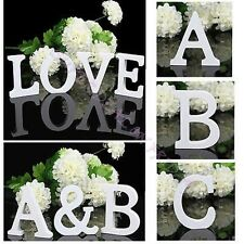 Wooden Alphabet Letters Bridal Wedding Party Birthday Home Garden Decoration