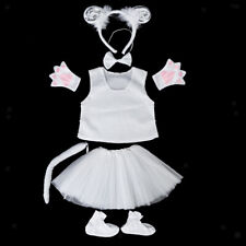 Princess 3-6Y Kids Girls Boys Little Sheep Bee Tutu Skirt Party Dress UP Costume