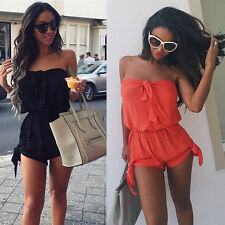 Women Sexy Celeb Lace Playsuit Party Evening Summer Ladies UK 6-20