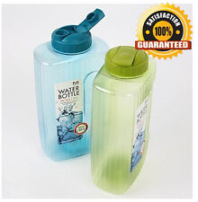 Lock & Lock BPA free Square Large Water Bottles 2L LOCK AND LOCK LOCK N LOCK