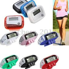 Mini LCD Digital Step Pedometer Run Walking Calorie Counter Distance Sporting US
