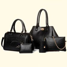 New Women Crocodile Handbag Shoulder Bags Tote Leather Ladies Messenger Hobo Bag