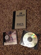 PAUL WESTERBERG cds 14 Songs limited edition promo non lp bsides replacements
