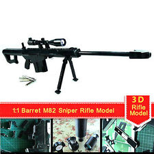 1:1 toys Model 3D Paper  Papercraft Stadio Cosplay For Barrett M82 Sniper Rifle