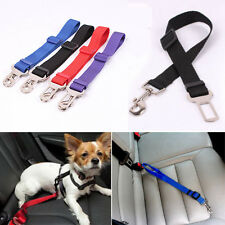 New Adjustable Puppy Vehicle Car Seat Belt Harness Lead Clip Pet Cat Dog Safety