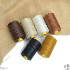 100m/Spool 1mm Flat Sewing Waxed Thread Nylon Waxing For LeatherCraft Upholstery