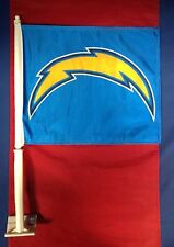 San Diego Chargers Car Window Flag Double Sided