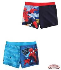 New Boys Spiderman Swimming Shorts Spiderman Trunks Age 4-10 Years