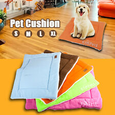 S M L Xl Small Medium Extra Large Pet Dog Crate Mat Kennel Cage Pad Bed Cushion