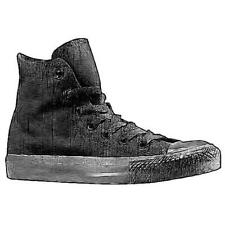 Converse All Star Hi - Boys' Primary School Basketball Shoes (Black Monochrome)