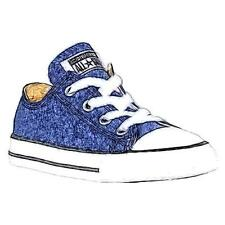 Converse All Star Ox - Boys' Toddler Basketball Shoes (Navy)