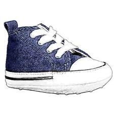 Converse First Star - Boys' Infant Basketball Shoes (Navy)