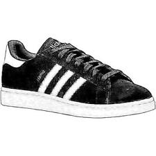 adidas Originals Campus - Men's Basketball Shoes (BK/WT/BK Width:Medium)