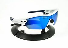 oakley blue and white sunglasses  oakley radar sunglasses