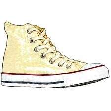 Converse All Star Hi - Boys' Primary School Basketball Shoes (White)
