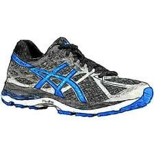 ASICS® GEL-Cumulus 17 - Men's Running Shoes (Mix GY/Electric BL/BK Width:Medium)