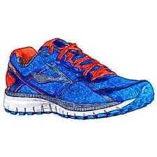 Brooks Ghost 8 - Men's Running Shoes (Electric Brooks/Spicy OR/Dress BLs Width: