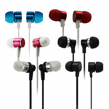 New 3.5mm In-Ear Earbuds Earphone Headset Headphone For iPhone Samsung iPod PC