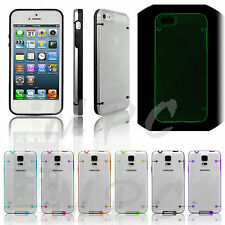 Reveal Stylish Luminous Glow In The Dark Case Slim Fit Cover For Mobile Phones