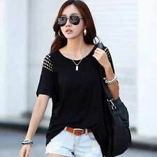 Fashion Women Summer Vest Top Short Sleeve Blouse Casual Tank Tops T-Shirt