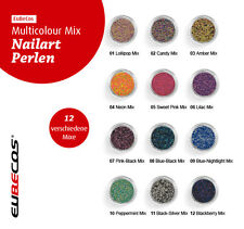 Caviar nail art beads microbeads scatter beads Mini Pearls MULTI FREE SELECTION