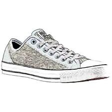 Converse CT All Star Overlay Ox Woven - Men's Basketball Shoes (GY Width:Medium)