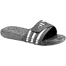 adidas Adissage SuperCloud Slide - Men's Casual Shoes (Black/White Width:Medium)