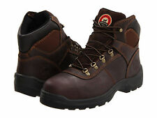 Red Wing Mens IRISH SETTER 6 Inch Mocha CH Leather Steel Toe Work Boots 83608