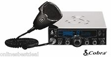 Cobra 29LXCHRLE Chrome Professional CB Radio with 4-color LCD Display,Weather