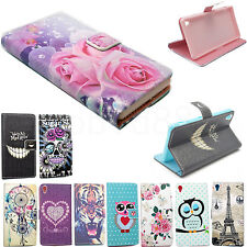 Flip Wallet Leather Phone Skin Cover Case For Samsung Galaxy S6 Edge S4 S5 Mini