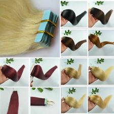 """50g 16""""18""""20""""22"""" Remy AAA Straight Or Wavy Tape In 100% Human Hair Extensions"""