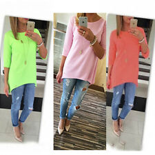 Hot Sell  Fashion Women's Loose Tops Long Sleeve Shirt Casual Blouse