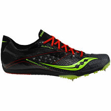 Saucony Endorphin LD4 Black Men's Running Spikes Shoes NEW Cross Country XC