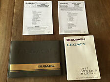 1997 Subaru Legacy Factory Owners Manual and Case