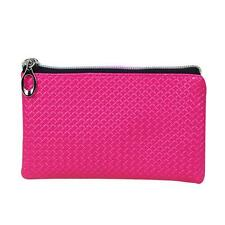 Fashion Women Leather Coin Change Purse Zipper Wallet Clutch Long Handbag Bag