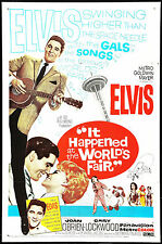"""""""IT HAPPENED AT THE WORLD FAIR"""" ELVIS PRESLEY Retro Movie Poster A1A2A3A4Sizes"""